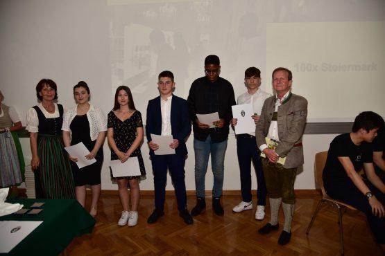 09 Wartingerfeier 2020 PreisträgerInnen MS Dr. Renner Graz 555x370 - Verleihung Wartinger- und Tremelmedaille 2020