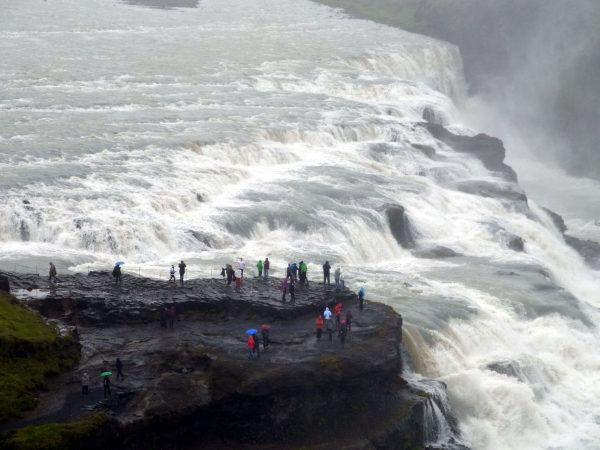 10 Wasserfall Gullfoss R0010466 600x450 - Norddeutschland 2019