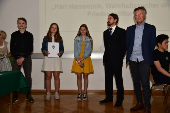 12 Wartingerfeier 2020 PreisträgerInnen MS Obdach 555x370 - Verleihung Wartinger- und Tremelmedaille 2020