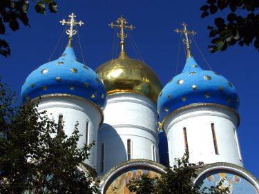 17 Sergijew Possad Maria Entschlafens Kathedrale R0019031 375x281 - Moskau 2014
