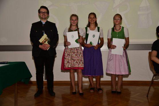 17 Wartingerfeier 2020 Preisträgerinnen BG BRG Judenburg 555x370 - Verleihung Wartinger- und Tremelmedaille 2020