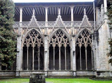 2016 Jakobsweg 04 Pamplona Catedral Santa Maria Kreuzgang 1 375x281 - Jakobsweg 2016