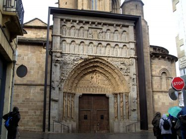 2016 Jakobsweg 09 Sangüesa Iglesia Santa Maria 375x281 - Jakobsweg 2016