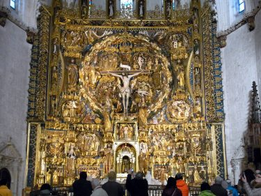 2016 Jakobsweg 22 Burgos Kloster Miraflores Siloéaltar 375x281 - Jakobsweg 2016