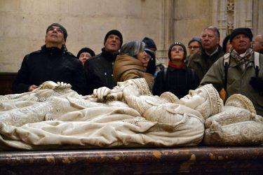 2016 Jakobsweg 25 Burgos Kathedrale Capilla de Condestable Stiftersarkophag 375x250 - Jakobsweg 2016