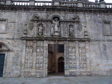2016 Jakobsweg 44 Santiago Kathedrale Ostfassade Heilige Pforte 375x281 - Jakobsweg 2016