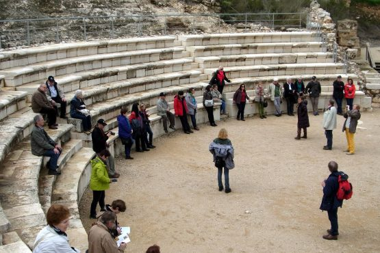 23 Zippori Theater R0021426 555x370 - Israel 2015