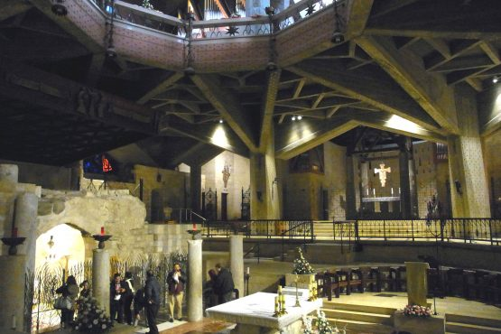 25 Nazareth Verkündigungsbasilika R0021444 555x370 - Israel 2015