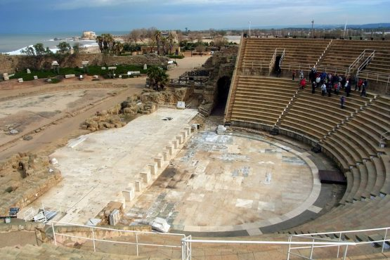 2 Caesarea Maritima Theater R0021074 555x370 - Israel 2015