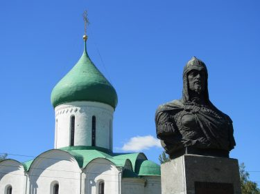 36 Pereslawl Salesski Christi Verklärungskirche Alexander Newski R0020072 375x281 - Moskau 2014