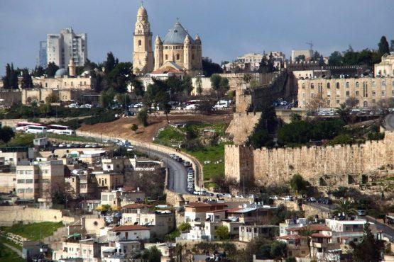 42 Jerusalem Zionsberg Dormitio R0021740 555x370 - Israel 2015