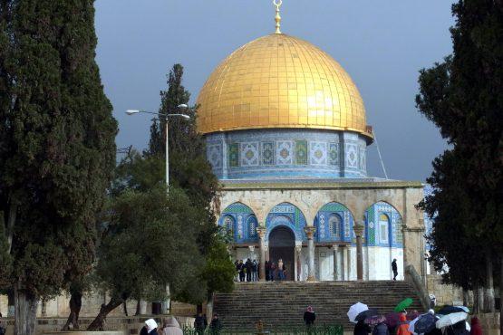 59 Jerusalem Tempelberg Felsendom R0021904 555x370 - Israel 2015