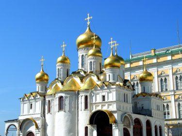 6 Moskau Kreml Mariä Verkündigungs Kathedrale R0018921 375x281 - Moskau 2014