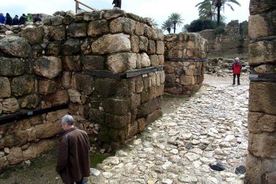 6 Megiddo Toranlage R0021123 555x370 - Israel 2015
