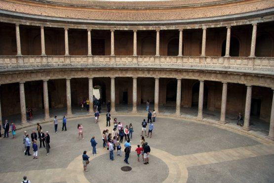 8 Granada Alhambra Palast Karl V R0015846 555x370 - Andalusien 2014