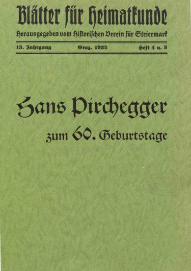 Blätter Jg13 Titelseite 375x530 - Jahrgang 13 (1935)