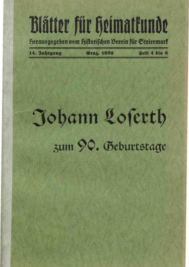 Blätter Jg14 Titelseite 375x530 - Jahrgang 14 (1936)