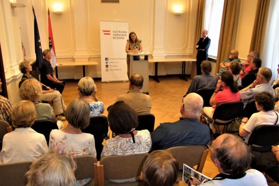 Fahrten 2018 Serbien 39 Belgrad Botschaftsempfang RFH R0041694 555x370 - Habsburgisches Serbien 2018