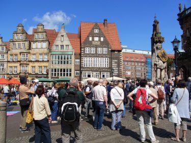 Fahrten 2019 WD 10 Bremen Marktplatz Roland RFH R0047589 375x281 - Norddeutschland 2019