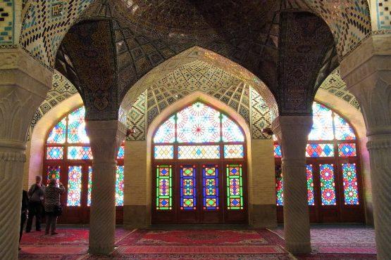 Fahrten Iran 2017 18 Shiraz Nasir ol Molk Moschee 555x370 - Iran 2017
