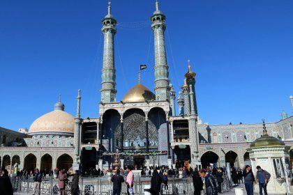Fahrten Iran 2017 41 Qom Haram e Masumeh 420x280 - Iran 2017