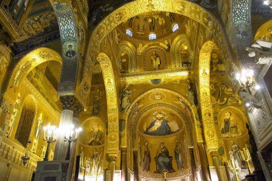 Fahrten Sizilien 2018 15 Palermo Cappella Palatina RFH R0039229 555x370 - Sizilien 2018
