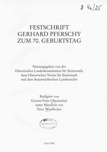 ZHVSt SB25 Titelseite 375x530 - Sonderband 25 (2000)