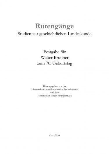 ZHVSt SB26 Titelseite 375x530 - Sonderband 26 (2010)