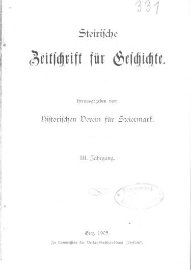 Zeitschrift Jg 3 Titelseite 375x530 - Zeitschrift 3 (1905)