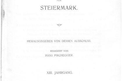Zeitschrift Jg13 Titelseite 420x280 - Zeitschrift 13 (1915)