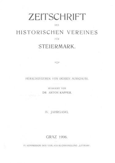 Zeitschrift Jg4 Titelseite 375x530 - Zeitschrift 4 (1906)