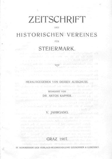 Zeitschrift Jg5 Titelseite 375x530 - Zeitschrift 5 (1907)