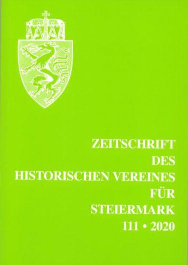 Zeitschrift 111 2020 375x530 - Zeitschrift des Historischen Vereines für Steiermark 111, 2020