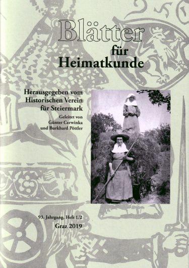 blaetter 1 2 19 375x530 - Blätter für Heimatkunde 1/2 2019