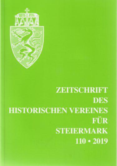 titel 110 2019 375x530 - Zeitschrift des Historischen Vereines für Steiermark 110, 2019