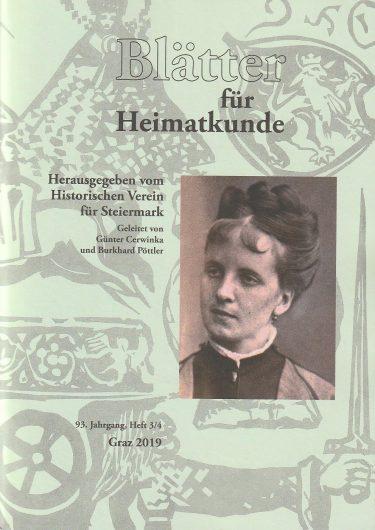 titel blätter 3 4 19 375x530 - Blätter für Heimatkunde 3/4 2019