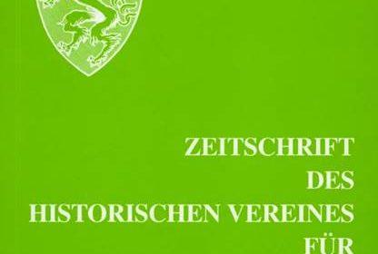 zeitschrift 2018 109 titel 416x280 - Zeitschrift des Historischen Vereines für Steiermark 109, 2018